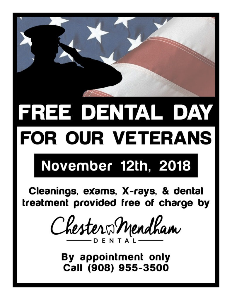 Free Dental Day for Our Veterans event